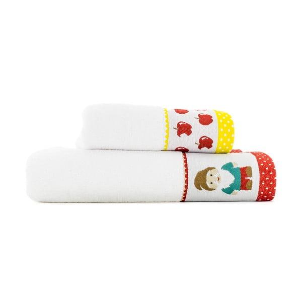 Zestaw 2 ręczników Dwarves, 50x100 cm i 70x140 cm