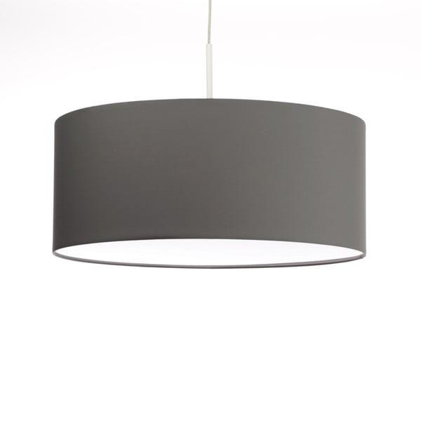 Ciemnoszara lampa wisząca 4room Artist, zmienna długość, Ø 60 cm