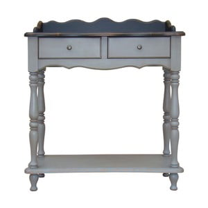 Stolik z szufladami Belgique Grey