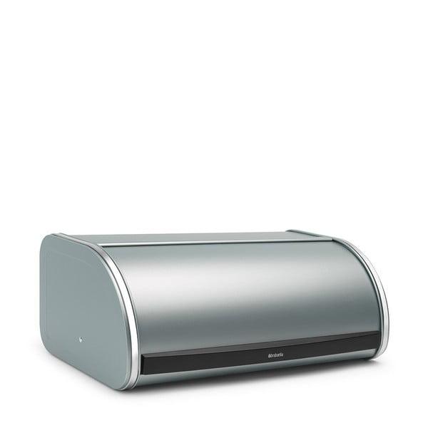 Pojemnik na chleb w kolorze miętowym Brabantia Roll Top