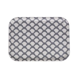 Taca Iris Saras Roof Grey, 27x20 cm
