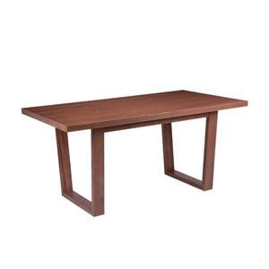 Stół w dekorze drewna orzechowego sømcasa Amber, 180 x 90 cm