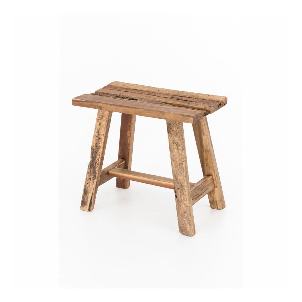 Drewniany taboret WOOX LIVING Clara