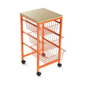 Półka na kółkach Versa Cocina Naranja