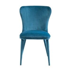 Niebieskie krzesło do jadalni Kare Design Santorini