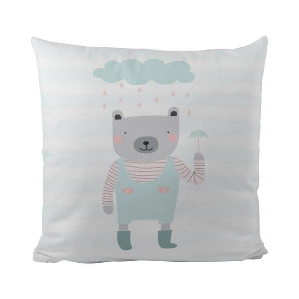 Poduszka   Rainy Bear, 50x50 cm