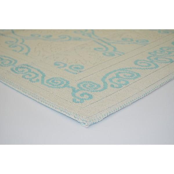 Niebieski wytrzymały dywan Primrose, 120x180 cm