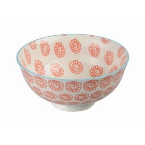 Porcelanowa miska Orient Red, 12x5,6 cm