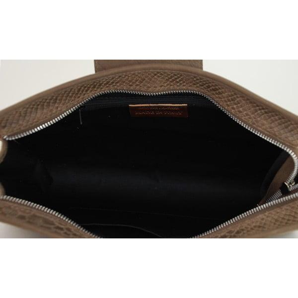 Skórzana torebka Bonnie Taupe