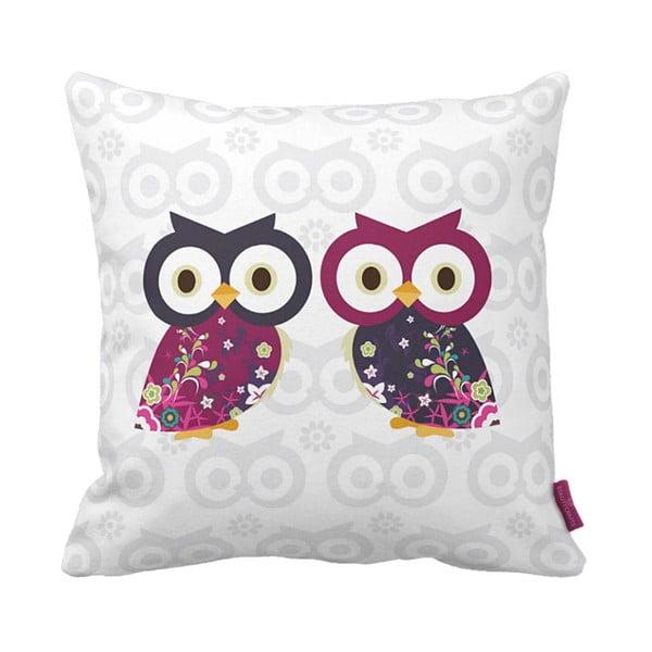 Poduszka Owls, 43x43 cm