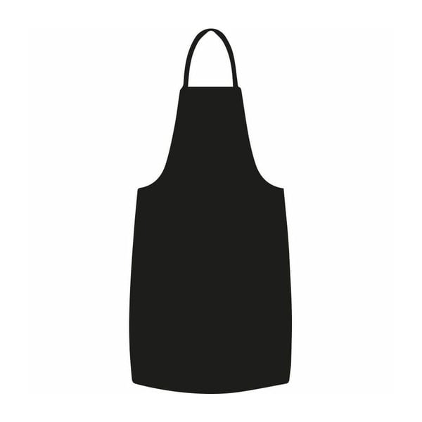 Naklejka Cooking apron blackboard, 125x55 cm