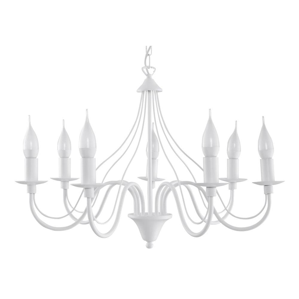 Biały żyrandol Nice Lamps Floriano 7