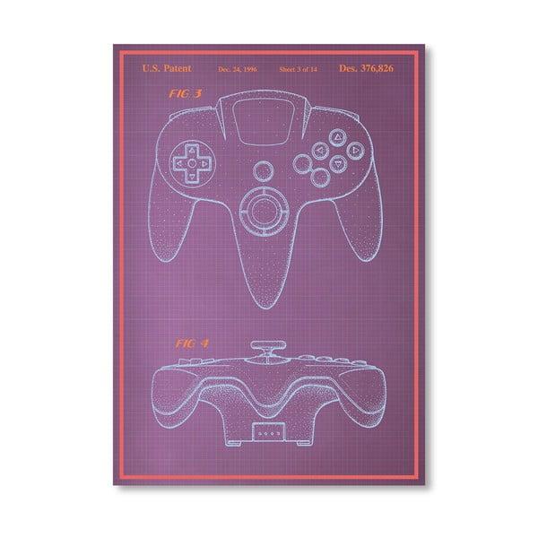Plakat Joystick, 30x42 cm