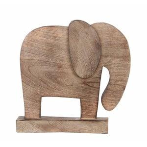 Drewniany słoń dekoracyjny Mica Sculpture