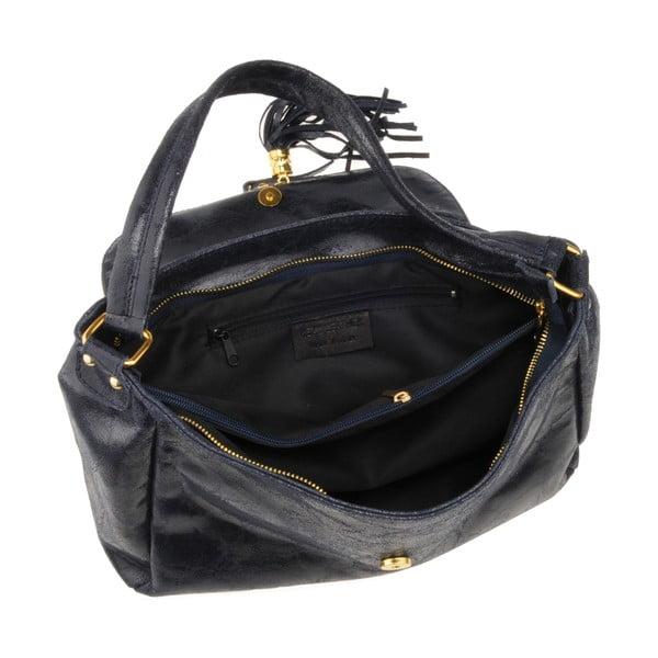 Skórzana torebka Diadema, granatowa