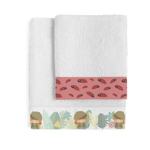 Zestaw 2 ręczników Happynois Explorer