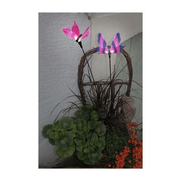 Słoneczna lampa ogrodowa Rosa