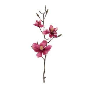 Sztuczny kwiat Magnolia Pink, 80 cm