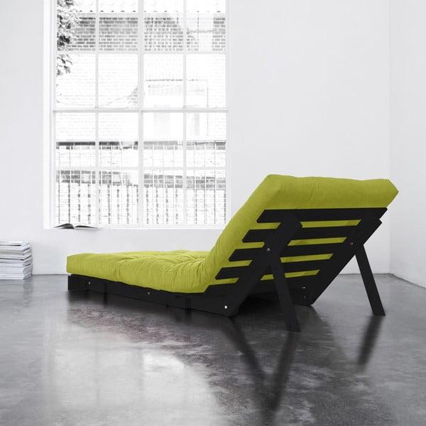 Fotel rozkładany Karup Roots Wenge/Pistacie