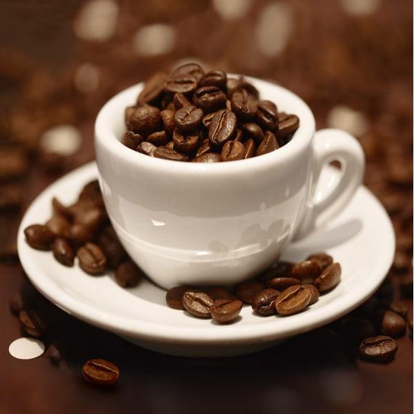 Szklany obraz Cup of Beans, 30x30 cm