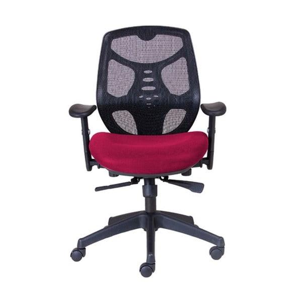Krzesło biurowe Norton L, ciemna czerwień