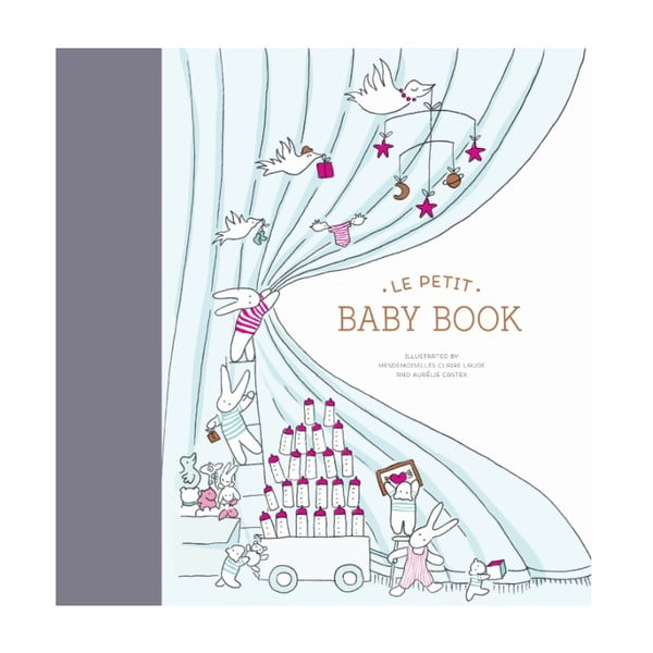 Album dziecka Chronicle Books Le Petit Baby Book