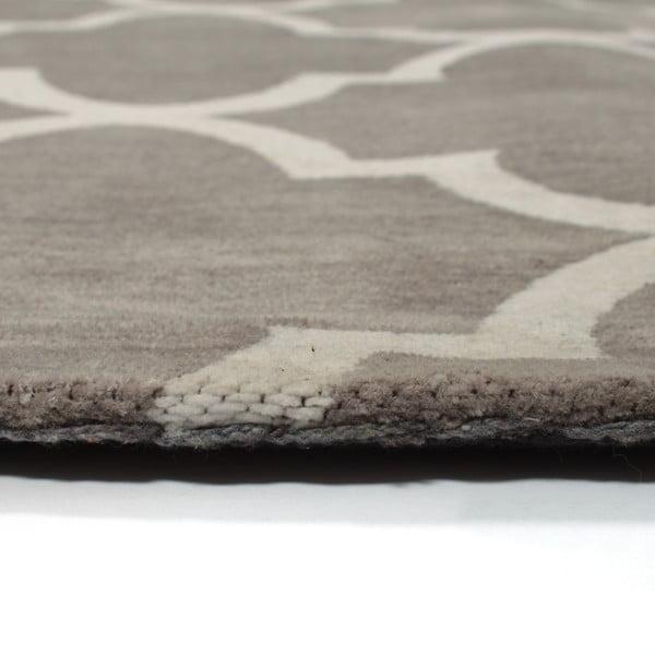 Dywan bawełniany Boho Grey/White, 120x180 cm