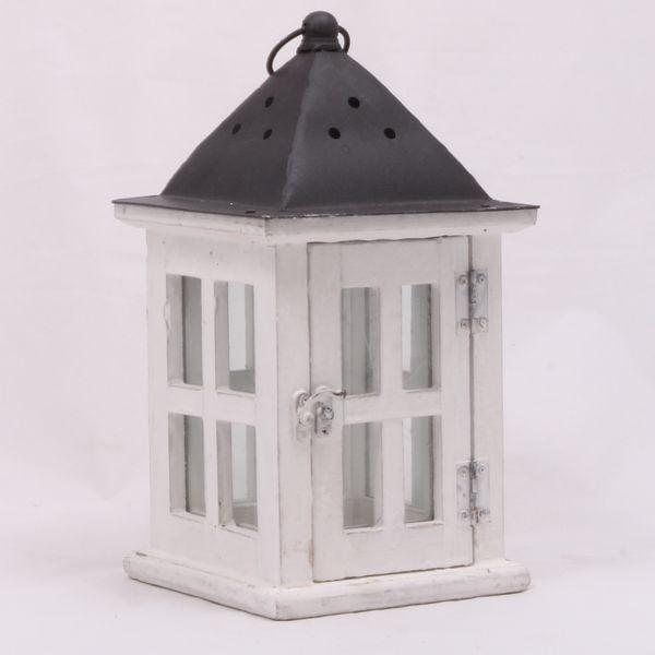 Drewniany lampion Little Cabin