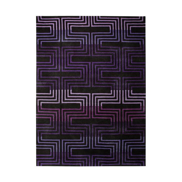Dywan Esprit Matrix Purple, 70x140 cm