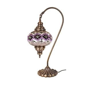 Lampka szklana Fishing VI, 17 cm