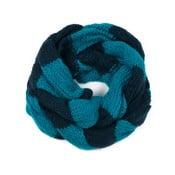 Czarno-niebieski szalik damski Art of Polo Ruby