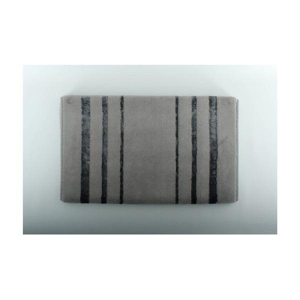 Dywanik łazienkowy U.S. Polo Assn. Charleston Grey, 60x100 cm