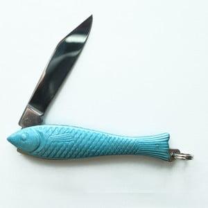 Jasnoniebieski scyzoryk rybka