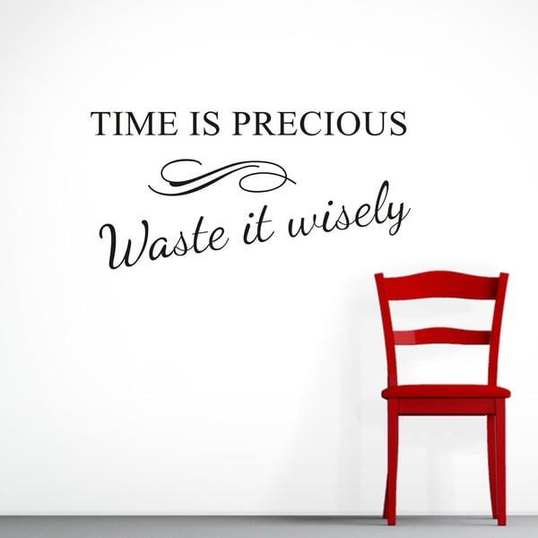 Naklejka dekoracyjna Time, 30x60 cm