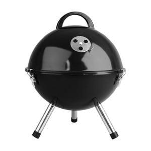 Czarny stołowy grill węglowy Fieldmann Donny