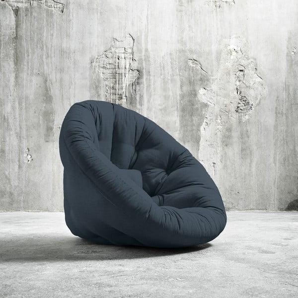 Fotel rozkładany Karup Nido Deep Blue