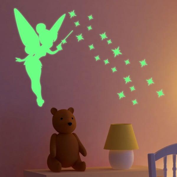 Naklejka świecąca Fanastick Fairy With Stars
