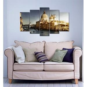 5-częściowy obraz Wenecja