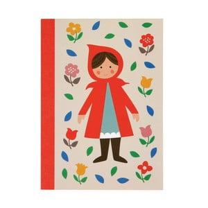 Zeszyt Czerwony Kapturek Rex London Red Riding Hood, A6
