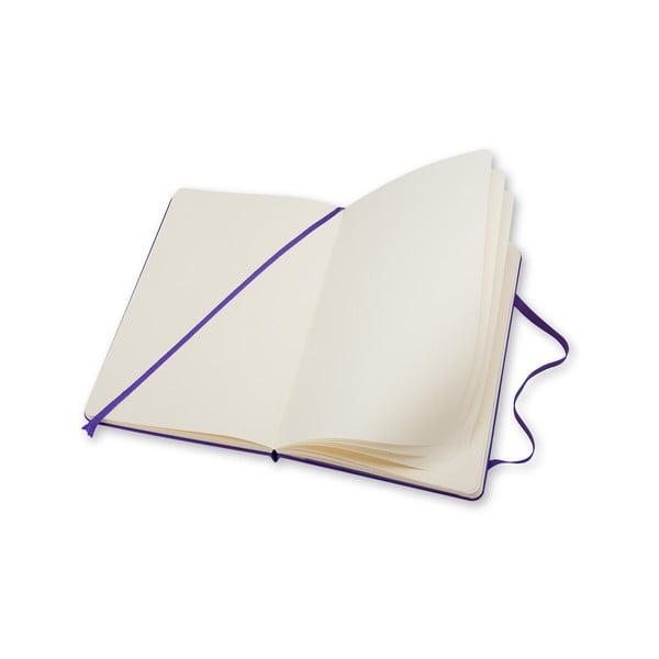 Notatnik Moleskine Violet Hard LG, czysty