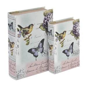 Komplet 2 podełek Wooden Book