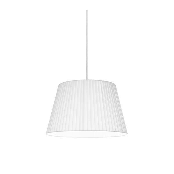 Biała   lampa wisząca Bulb Attack Dos Plisado, ⌀ 54 cm