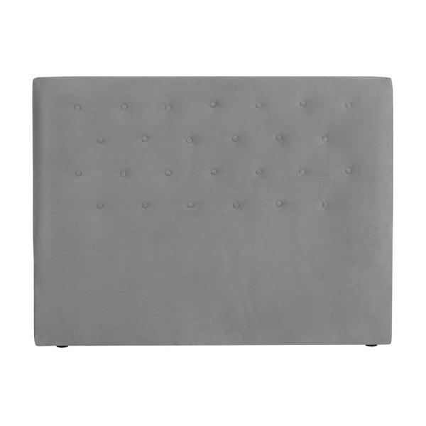 Jasnoszary zagłówek łóżka Windsor & Co Sofas Astro, 140x120 cm