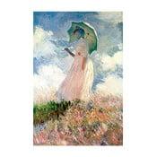 Reprodukcja obrazu Claude'a Moneta – Woman with Sunshade, 45x30 cm