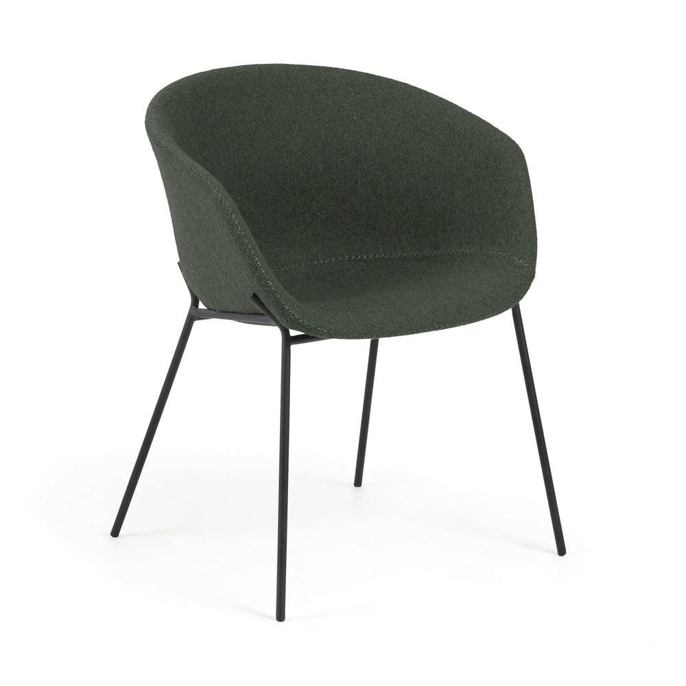 LAFORMA Danai 4 tapicerowane krzesła fotele szare