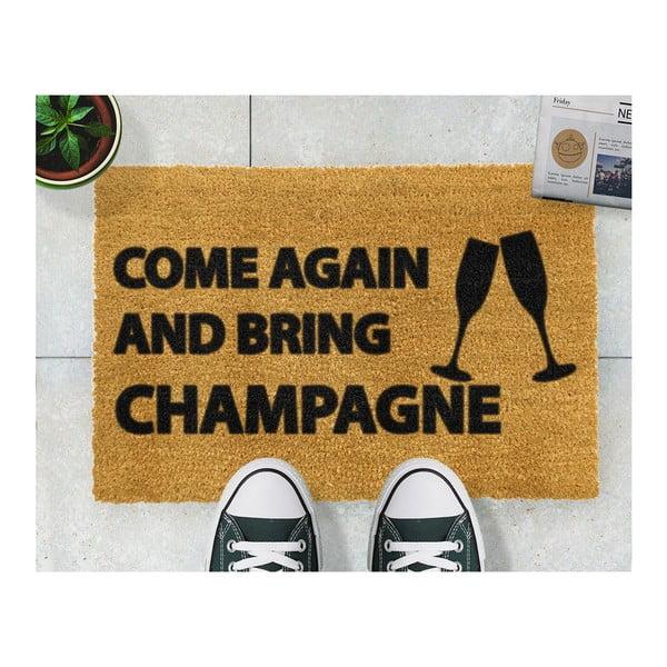 Wycieraczka Artsy Doormats Come Again & Bring Champagne, 40x60 cm