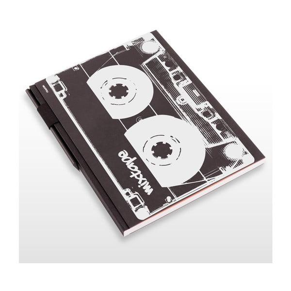 Szkicownik z ołówkiem Mixtape, 21x29,7 cm