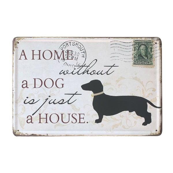 Tablica Black Dog, 20x30 cm