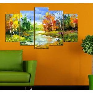 5-częściowy obraz Jesiennie