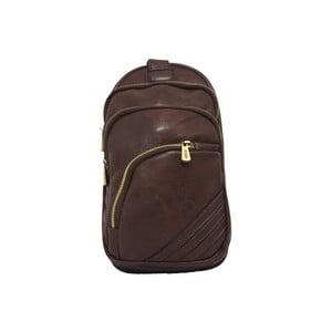 Plecak Bobby Black - brązowy, 15x28 cm
